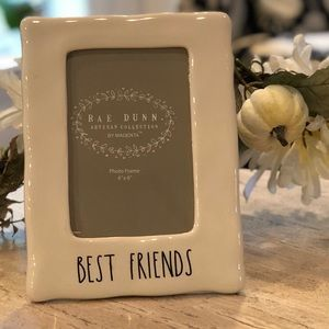 Rae Dunn Best Friends frame 4x6